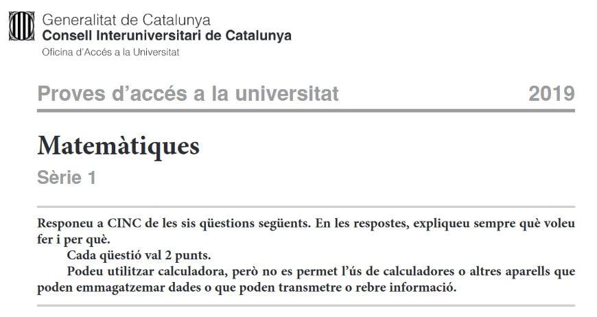Calculadoras para selectividad cataluña