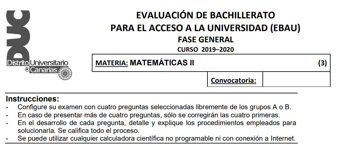calculadoras permitidas en selectividad canarias 2021